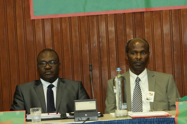 Dr Emmanuel Mwiseneza, secrétaire général du parti FDU-Inkingi. Il remplace Sylvain Sibomana en prison au Rwanda. Joesph Bukeye, 2è Vice-président. Il est parti à l'extérieur. Le premier vice-président, Boniface Twagirimana est au Rwanda.