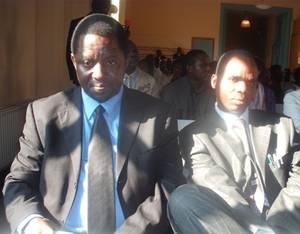 Hitimana et Ntaganda dans le meeting des FDU