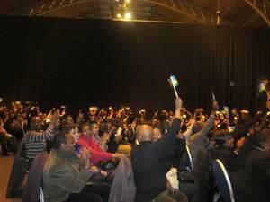 Les participants dans la salle