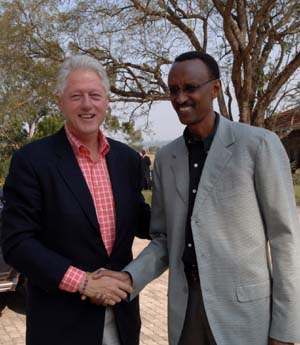 Kagame clinton_global citizenship award 24-9-2009