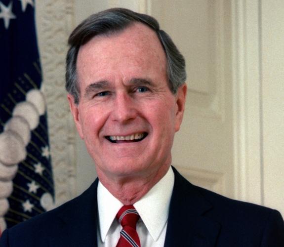 George H.W. Bush : 1981-1993