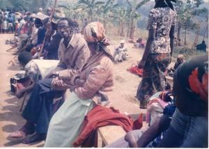 Nyetera avec des réfugiés (St André)